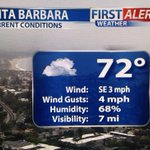 A gloomy start in #santabarbara I have your updated #firstalertwx forecast to reflect the cooldown @KEYTNC3 at 11 am http://t.co/Si77AuoIRY