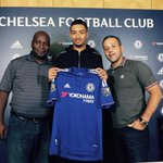 Photo confirmation of Michael Hectors £4m move to Chelsea. (Source: Instagram) http://t.co/gBVjAYnMpP