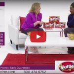 This is all you need today: @MoneyLynch peddles @Skittles on TV shopping channel VIDEO: http://t.co/tA0UEHYg6G http://t.co/R3D5U1KAmG