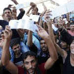 Europe turns on desperate #Hungary as thousands of migrants try to cross the border http://t.co/y1k6niIL3X http://t.co/P27fIdGl1I