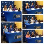 #UWF Fall Sports Media Day. #UWFSoccer #UWFVolleyball #UWFXC http://t.co/3ouNpKzV91