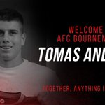 BREAKING: #afcb sign Tomas Andrade on loan, subject to international clearance: http://t.co/wZ0dwelk3C #DeadlineDay http://t.co/N4XyH8HOTH