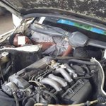 Desperate migrant found hiding next to car engine in attempt to get into Europe http://t.co/2BxFBj250h http://t.co/lsYANhyznI