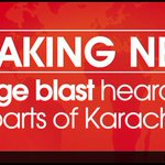 Huge #blast heard in parts of #Karachi Read more: http://t.co/p0Sp1BgQOz http://t.co/NwTdCUbgB3