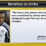 After Saido Berahino said he wont play for Jeremy Peace, the West Brom chairman has responded #SkyDeadlineDay #SSNHQ http://t.co/F3miKoINRu