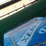 Todo preparado para la vuelta a casa del Xerez Club Deportivo; en unos minutos arranca el I Trofeo Rafa Verdú. http://t.co/4l8KOWJ9tr