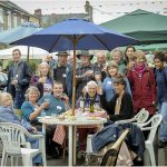 Inaugural #streetparty in Cavendish Road, #Cambridge, is a success - http://t.co/GYoaVvPnym http://t.co/XoojuHS4C1