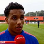 [VIDEO] #Ajax TV zocht Jairo Riedewald op bij Oranje: 'Volgende doel is debuteren.' http://t.co/hTwEZZAFbI
