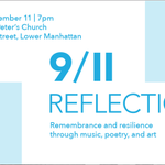 @NewYorkcom 9-11 Reflections Sept 11 7pm St Peter's #NYC Part proceeds go to service org http://t.co/bEaQsNcYhD http://t.co/VpzI7lm9FC