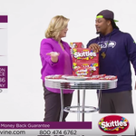 .@MoneyLynch sells #Skittles on a shopping channel. If you missed it, its on @YouTube: http://t.co/HAQWb8b1GI http://t.co/HIEeBIS0l0