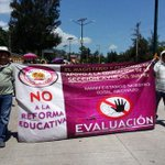 CETEG marcha contra tercer informe de @EPN en Autopista del Sol http://t.co/PiOYNXZGos