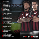 Milans jersey numbers for 2015/16. http://t.co/Xqd0GunhwL