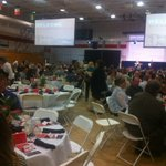 At annual @SimpsonU Business Luncheon. Some 550 in attendance. Sold out. Dr. Paul White is keynote. http://t.co/EW4466mc71