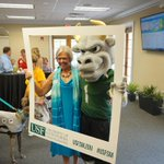 We had a great visit from Rocky the Bull with @USFSM for #GivingChallenge15 http://t.co/ZFU4ERiC9h
