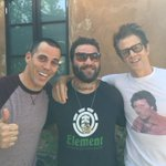Just hung out with these two fellas.💃🏻👍🏼@BAM__MARGERA @steveo http://t.co/1vop7XGTVs