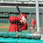 Hello, September Baseball. #HalosBP #LAAvsOAK http://t.co/ZCq5SVO00R