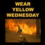 PLEASE SHARE: Wear yellow on Wednesday to show support for our hardworking firefighters - http://t.co/nd1HOrTbb2 http://t.co/aRTzcyiDve