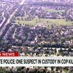 JUST IN: One suspect is in custody in the #FoxLake, Illinois manhunt for killing cop: http://t.co/8ABrZufpQZ http://t.co/arzOKrUv5P