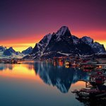 The gorgeous Lofoten, Norway | Photo by Christian Ringer http://t.co/CmgyeSCAfx