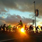 Amazing night again for #Blackpool #ridethelights #2015 #sunset #cycling #bicycle http://t.co/NotGo8l1EL