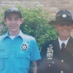 My brother with the lieutenant that was shot and killed. #FoxLake #RIP my prayers are with the family and friends... http://t.co/jA08TTSdWs