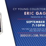 9/14: First 40,000 fans in attendance receive an Eric Gagné pin, presented by 76. Get tickets: http://t.co/42VuSq5TD1 http://t.co/xdPS9dESO8