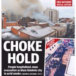 Todays @theTiser front page http://t.co/2kdgux6aZe #newsADL #Adelaide #HindleyStFire #FrontPagesToday http://t.co/2ZViAeuFgI