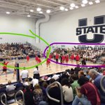 Purple= normal size student section full Green= student section overflow. #AggieNation http://t.co/1qMxJhq4yJ