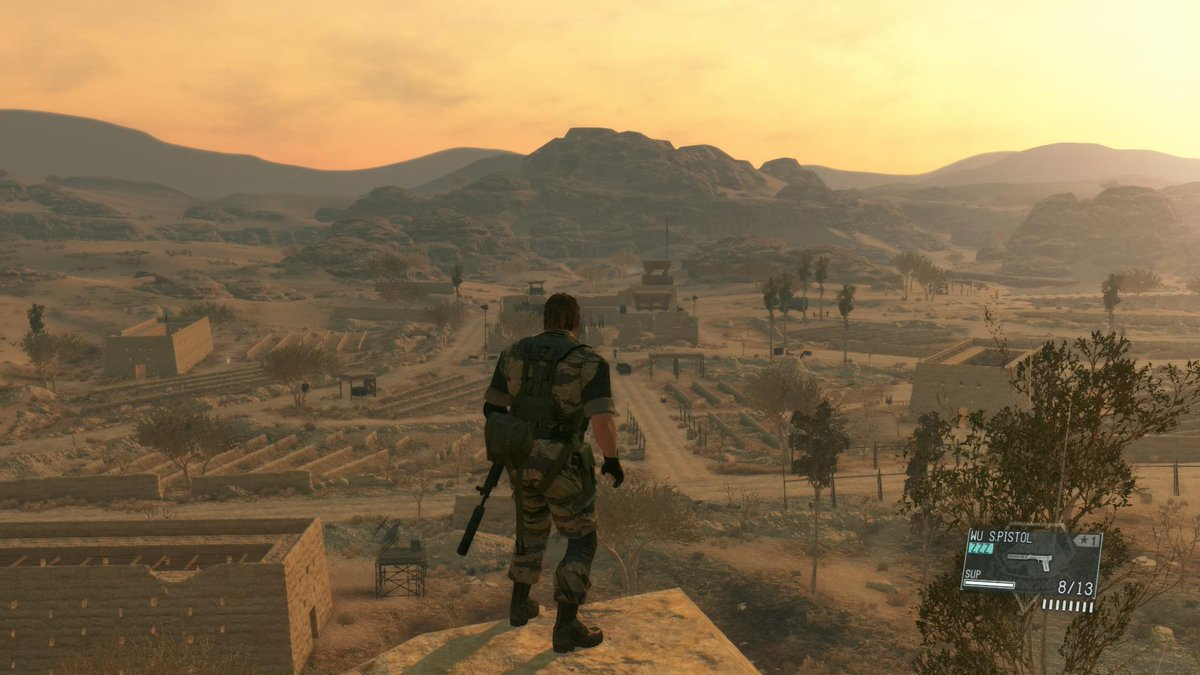 WOW PICTURE PERFECT ART: MGS V LOOKS LIKE A DREAM #PS4share http://t.co/OKNhWEh0IA