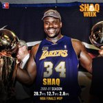 RT @NBATV: Take a look back at @Shaq's quest for a repeat in 2001, next on NBA TV! #ShaqWeek