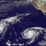 Two hurricanes and a tropical depression are active in the Pacific. Check here for updates: http://t.co/CL43aCZY0F