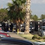 El Paso police SWAT team at scene of standoff on Maxwell Ave, at Roberts in Northeast. http://t.co/ZYRw6SdRuD