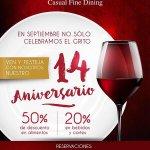 RT @playaenmano: #PlayaDelCarmen @LaCasaDelAgua1 celebra su 14 Aniversario así #Septiembre http://t.co/vCPotfi36Z