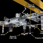 Crew will make 34 orbits of Earth to get to @Space_Station on Friday at 3:42aET/7:42 UTC: http://t.co/V3cHlJ0Eca #ISS