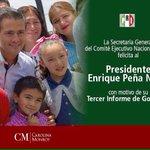 Es momento de consolidar el proyecto de nación que hemos definido: @EPN #TercerInforme http://t.co/JIEvCuknD3