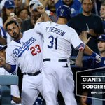 RECAP: Joc Pederson homers as Zack Greinke outduels Madison Bumgarner in #Dodgers 2-1 win. {http://t.co/kHsD48vY8Q} http://t.co/m4ytnvHtWb