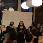Great @WomenWhoCodeNYC panel event w/ @SarahMunzi @rhonorv @sicchio @csprite at @harrys #tech #nyc http://t.co/eh3pU0ZCMR