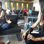 #AlAire @LashijasdeEva entrevista @soyclaramx de @bicinetamx en @MamitasBeach Escúchanos en http://t.co/0xjma7cdzH http://t.co/Jev78fbWRd