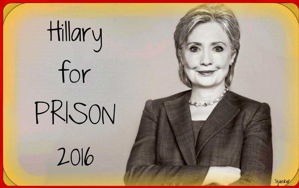 @HillaryClinton @ReadyForHiIIary #Ready4Prison! http://t.co/0eLN5soBUJ