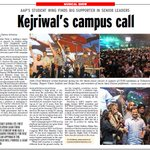 Kejriwals campus call #CYSS4DUSU http://t.co/KKkmLsq4Mo