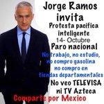 Recuerden habitantes de #México, todxs invitadxs al #ParoNacional 14 OCTUBRE ¡RT! #YaEsSetiembreY #EnLaPrimeraCita http://t.co/4f9GLOYzJA