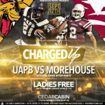 @diamonsimone Ambitious Minds Presents #ChargedUP ( UAPB VS MOREHOUSE AFTER PARTY ) Ladies Free Until 10:30PM http://t.co/1fJvjOAuKP