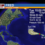 #Fred at 10pm on Tuesday. #TropicalStormFred @weartv #C3N #HurricaneFred http://t.co/gLRCoVs18H