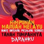 Himpunan Maruah Melayu di Bukit Bintang! sgt ironi memandangkan kat BB la port ramai melayu mabuk yg hilang maruah. http://t.co/NLrYb1ZwGV