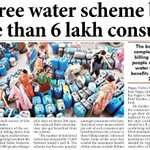 DJBs free water scheme benefits more than 6 lakh consumers @Ceo_djb #DelhiGovernance http://t.co/DHgcCpVC1e