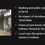 15 crore workers in 10 unions on nationwide strike till 6 pm http://t.co/QCiJosZLPr http://t.co/lagslgntI6