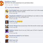 Tense stuff over on Facebook... #MUFC http://t.co/fCliCsrKNR