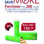 Buy More Save More Promo.Get a 20% discount on Berocca 10s. Read more https://t.co/s9dJyo1d2I http://t.co/jpAgJtUr8h