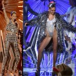 Miley Cyrus In Prada - 2015 MTV Video Music Awards #VMAs #vmas #mileycyrus http://t.co/3jWTr1uHkn http://t.co/aPaIhXzDoQ