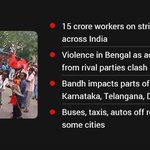 #BharatBandh Affects Transport, other services http://t.co/Y8nNbroSgL http://t.co/hA6i2ceytF